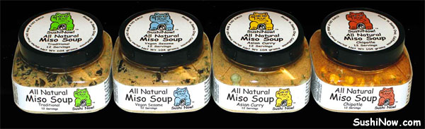 Sushi Now! Miso Soups