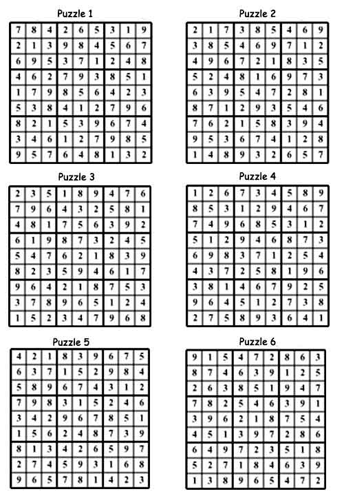 Sushi sudoku game puzzle for Sashimi fish crossword